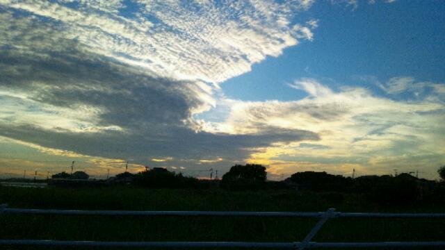海までの空。