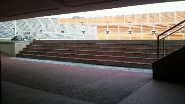 国立競技場☆スタジアムツアー⑧