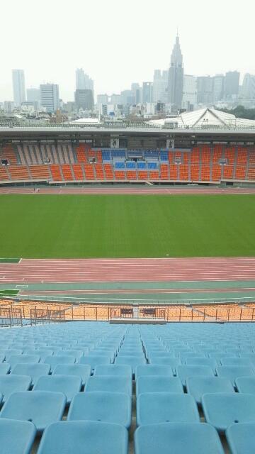 国立競技場☆スタジアムツアー⑩聖火台