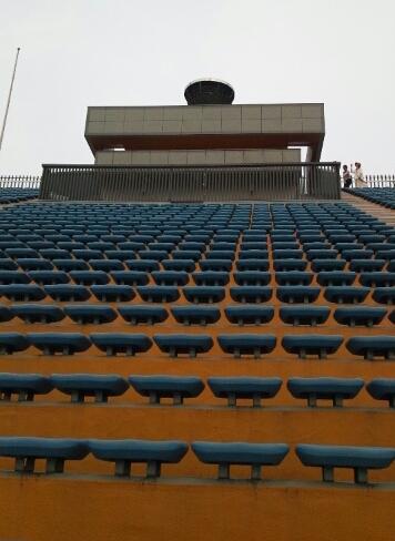 国立競技場☆スタジアムツアー⑧40番ゲートから聖火台へ