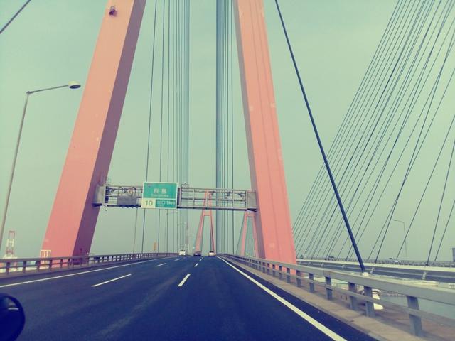 夏休み最後の思い出作り☆ユニバに向かってまーす。名港通過